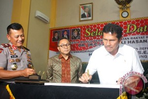 Peresmian Panic Button Lampung