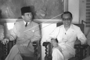 Antara doeloe: Bung Karno kundjungi Hadji Hatta