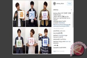 Shinhwa kini punya akun Instagram resmi