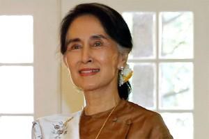 Suu Kyi kelelahan setelah perjalanan ke mancanegara