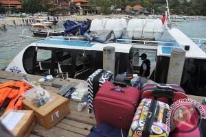 Tim Labfor Denpasar periksa ledakan kapal cepat