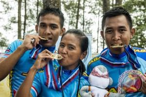 PON 2016 - Jabar penuhi target rebut tujuh emas  balap sepeda