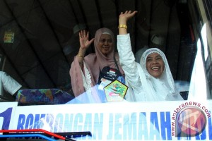 Kepulangan Haji Debarkasih Makassar