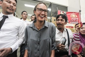 Nadine Chandrawinata penuhi panggilan polisi terkait kasus Aa Gatot