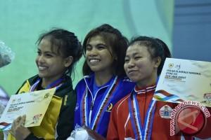 PON 2016 - Perolehan medali sementara PON XIX Jawa Barat
