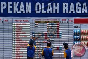 PON 2016 - Jatim juara umum golf PON XIX