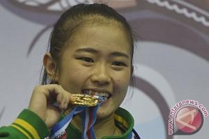 Emas Wushu Putri Jatim