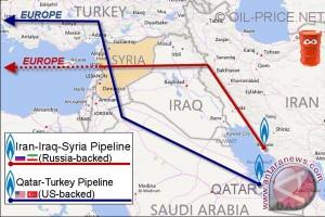 Geopolitik dan perang dunia terselubung di Suriah