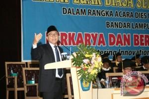 Ketua MPR orasi ilmiah pada Dies Natalis Universitas Lampung