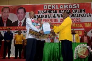 Deklarasi Bakal Calon Wali Kota Jayapura
