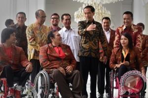 Presiden Terima Atlet Paralimpiade
