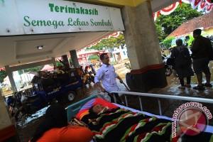 RSU Garut Diterjang Banjir Bandang