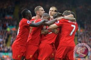 Liverpool mengamuk kalahkan Hull City 5-1