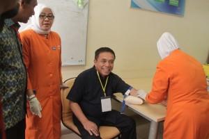 Enam calon gubernur Aceh jalani pemeriksaan kesehatan
