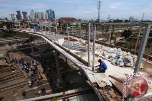 Pembangunan JPO Stasiun Tanah Abang