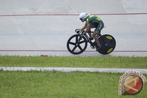 Timnas putri balap sepeda jajal kemampuan di Jelajah Malaysia