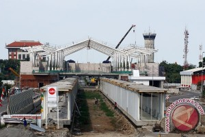 Pembangunan Stasiun Kereta Bandara Soetta