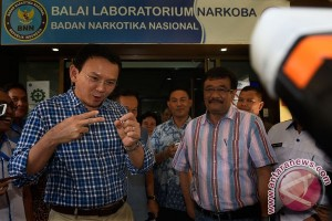 Tes Bebas Narkoba Cagub Cawagub DKI Jakarta