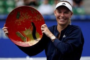 Caroline Wozniacki juara di Tokyo