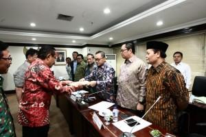 Pimpinan DPD konsultasi ke MPR terkait amandemen kelima UUD
