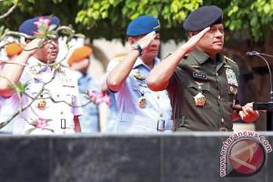 Ziarah Makam Presiden HUT TNI