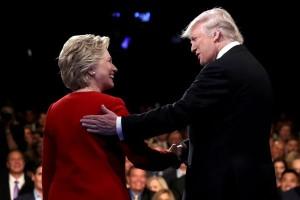 Hillary bertekad akan buat Donald Trump terus terpojok