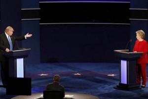 Debat Trump-Hillary pecahkan rekor