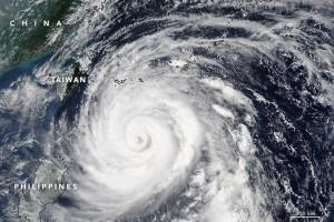 Taiwan lumpuh akibat topan
