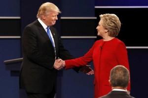 """Debat terakhir juga dimenangkan Hillary, Trump dikatai """"boneka Putin"""""""