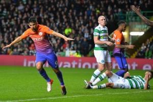 Manchester City imbang di kandang Celtic