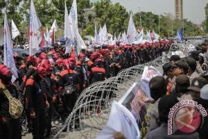 Demo Buruh Kota Batam