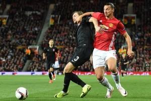 Manchester United vs Zorya imbang 0-0 babak pertama