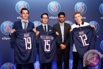PSG gandeng Webedia bentuk tim video game eSports