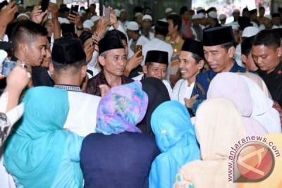 Presiden Jokowi buka Pospenas VII di Serang