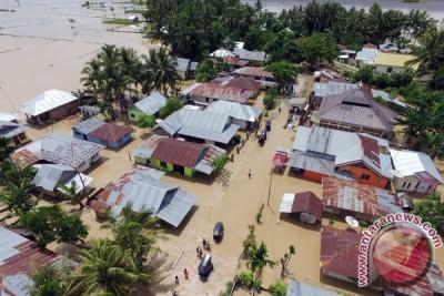 Banjir bandang Gorontalo terjadi di lima kabupaten