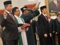 Pelantikan Menteri ESDM Dan Wamen ESDM
