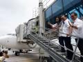Penerbangan Perdana Garuda Jakarta-Labuan Bajo