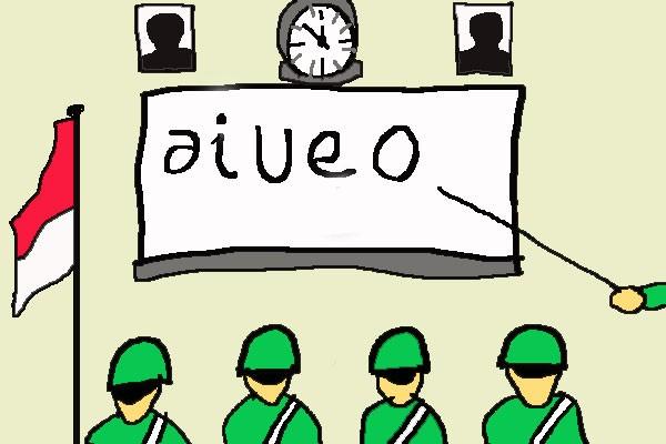 3,4 juta warga Indonesia belum mengenal huruf