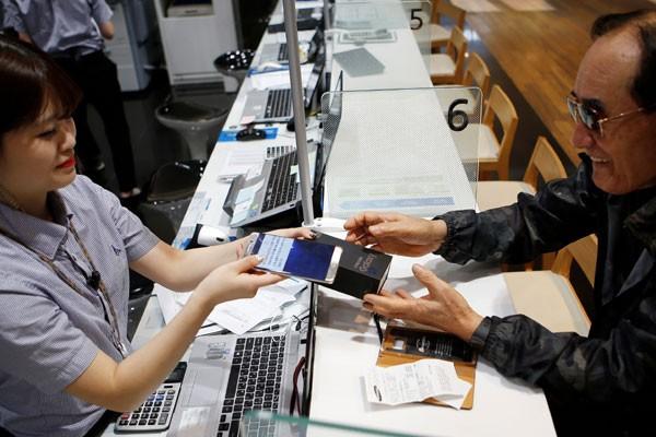 Jumlah penggunaan Galaxy Note7 terus meningkat