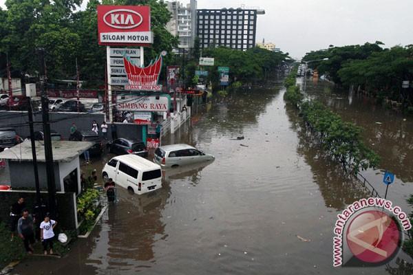 Banjir kembali landa kawasan Pasteur Kota Bandung