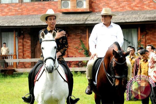 Jokowi Bahas Persoalan Kebangsaan Dengan Prabowo