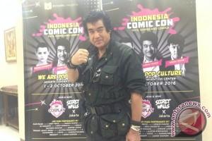 Hiroshi Fujioka terharu banyak penggemar Kamen Rider di Indonesia