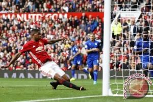 Rashford ingin tiru cara Ronaldo sukses di Manchester United
