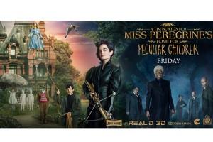 """""""Miss Peregrine's Home For Peculiar Children"""" terlaris di Amerika Utara"""
