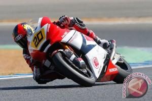 Dimas Ekky masuk lima besar balap Moto2 CEV