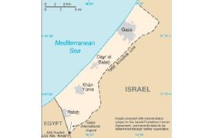 Rakyat jalur Gaza bergembira dalam kepahitan sambut tahun baru