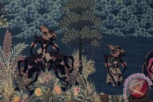 Selembar kain batik Dewa Ruci ditawar Rp250 juta