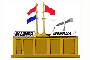 Antara doeloe: Belum terima djawaban Belanda atas memorandum mengenai perundingan soal Unie dan Irian