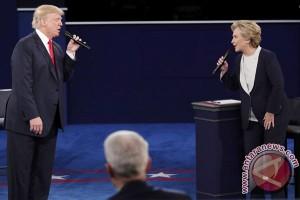 Debat terakhir capres AS disaksikan 72 juta pemirsa