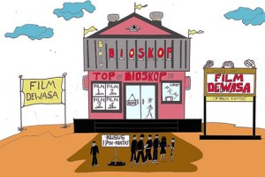 """ANTARA Doeloe : Dibawa lari pemuda yang """"gemar"""" lihat bioskop"""